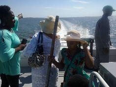Shrimp boat Tour Butler Island Plantation - Darien Georgia