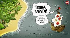Resultado de imagem para descobrimento brasil desenho