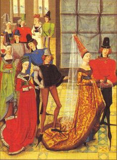 Great resource for Burgundian garb. c. 1450-1480s