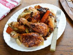 A Classic and a Challenge: Whole Roast Chicken with Lemon and Herbs : Food Network