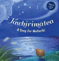 Tawhirimatea: a song for Matariki by June Pitman-Hayes and Kat Merewether. Maori lyrics by Ngaere Roberts Maori Legends, Food Art For Kids, Nz Art, Writing Poetry, Toddler Preschool, Preschool Learning, Lessons For Kids, Read Aloud, New Pictures