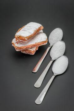 3 biscuits roses de Reims Fossier contiennent 2,6 cuil. à café de sucre soit 13,2g