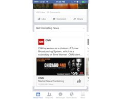 Facebook Promoting Publishers With 'Get Interesting News' Posts In News Feed