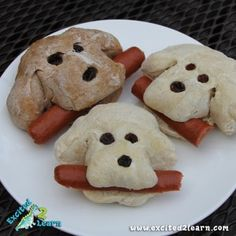 dog rolls for party