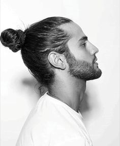 nice 45 Awesome Man Bun Hairstyles - You Should Try It