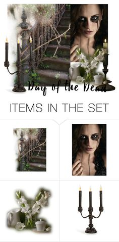 """Untitled #3963"" by julinka111 ❤ liked on Polyvore featuring art and Dayofthedead"