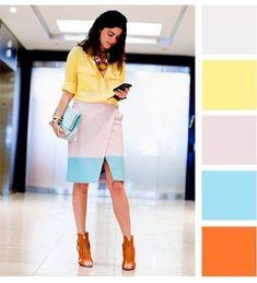 Descubre lo que dicen los colores de tu atuendo. | Outfits casuales trabajo | #outfits para la oficina juvenil | #style