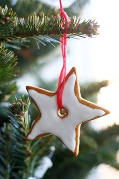 How To Make Gingerbread Christmas Tree Ornaments Holiday Guest Post from Jennifer of Chocolate Shavings
