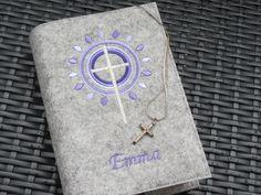 Weiteres - Gotteslob - Einband Wollfilz * lila ♥ flieder * - ein Designerstück von 1000und2Naehte bei DaWanda
