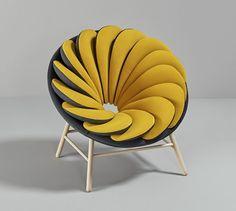 Quetzal: una silla diseñada por Marc Venot - FRACTAL estudio + arquitectura