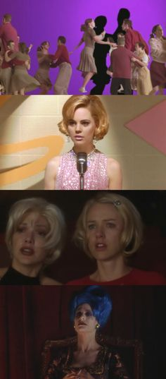 (Directed by David Lynch 2001) Mulholland Drive. Sexy stylish if inscrutable head-scratcher.