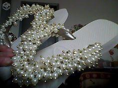 Sandaias customizadas