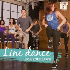 You won't even notice your legs getting lean and toned when you're having so much fun dancing! // Country Heat // Autumn Calabrese // dance workouts // fitness // exercise // fit fam // get fit // beachbody