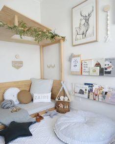 55 Best Montessori Bedroom Design For Happy Kids 0010