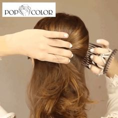 Fast And Easy Projects - How to Make Hair Clips? Hairstyles Haircuts, Summer Hairstyles, Hairdos, Summer Hair Tutorials, Diy Beauty, Beauty Hacks, Butterfly Hair, How To Make Hair, Hair Today