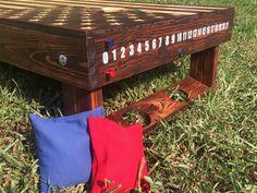 Add on scoreboard w/ golf tee for cornhole boards by JTBsWoodWorks