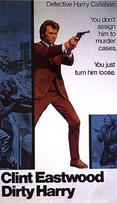 Dirty Harry - take away his badge and five, or six of his bullets, and he'll still make a criminal cry and give up.