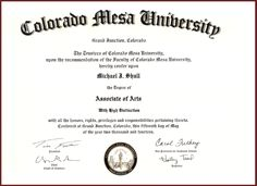 Associate Degree - Associates Degree In Business Administration