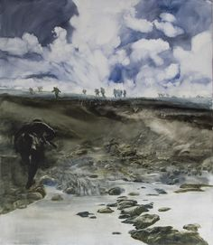 "ARBROATH: Kinblethmont Gallery. James Morrison and Coline Russelle ""Landscape - The Somme"" (Image: James Morrison) 19 Oct - 3 Nov"