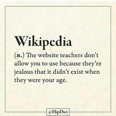 Wikipedia FTW!
