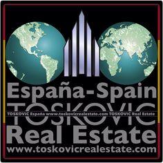 """""""TOSKOVIC Spain-España"""" Sea parte de nuestro equipo de éxito! www.toskovicrealestate.com"""