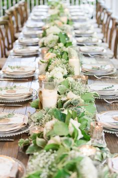 Enchanted Florist   Overgrown Garland Garden   Real Wedding at CJ's Off the Square