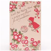 Little Red Riding Hood Shinzi Katoh fairy tale mini envelope