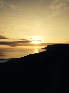 Sunset Polzeath Cornwall
