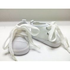White Canvas Sneakers. Fit Dolls Such as American Girl® and Bitty Baby® (Toy)  http://www.1-in-30.com/crt.php?p=B0047WKID6  B0047WKID6