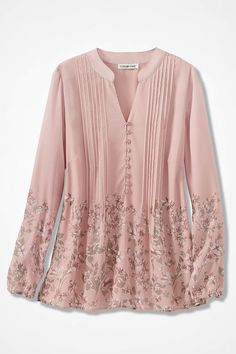 Ladies Long Flared Baroque Scarf Floral Print Blouse Womens Bell Sleeve Top