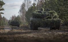 Lataa kuva Leopard 2A6, Saksan säiliö, valepuvussa, taisteluajoneuvot, konekivääri, Saksan Armeijan, säiliö