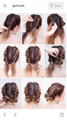 Easy everyday braided hairstyle #braid