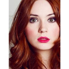 Celebrity Beauty Secrets Karen Gillan on Hair And Skin And A Bit on... ❤ liked on Polyvore featuring accessories, hair accessories, doctor who, people, hair, karen gillan, models and beauty secrets