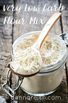 Very Low Carb Flour Mix