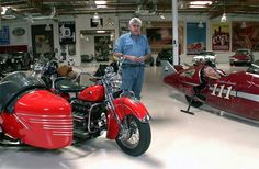 Jay Leno's Indian w sidecar & Indian #111