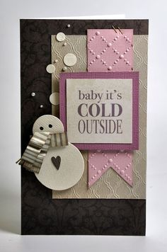 Crafting ideas from Sizzix UK: Winter Wonders with the new Big Shot starter Kit
