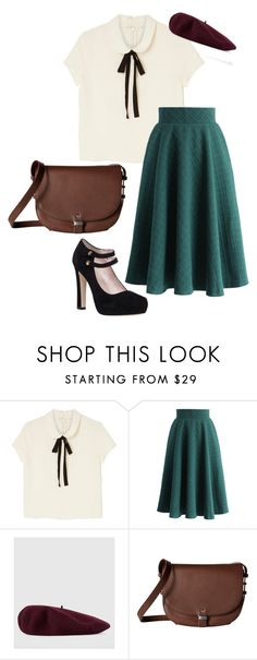 """30s inspiration"" by soltys-dagmara on Polyvore featuring moda, Monki, Chicwish, Gucci, ECCO i Kate Spade"