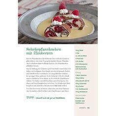 Schokopfannkuchen mit Waldhimbeeren... mmmmmhhh www.landecht.de