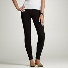 Black leggins... they just go with everything!