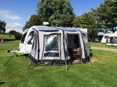 Pitched at Scarborough Campsite a great location for fun filled family activities!