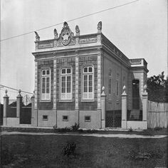 Grupo Escolar Guerreiro Antony. Manaus. Álbum do Amazonas 1901-1902.