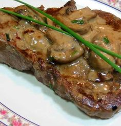 Recipe for Classic French Flambe Steak Diane - The dish starts with a tender cut of steak pounded thin and briefly pan-fried in butter. Perfect dinner for Valentines day or dinner to impress that special someone!! Very popular in the 60′s for retro dinner night, don't forget the apron..