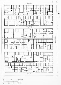 Ancient Greek - Plan : Olynthus_V/VI Sec. a.C