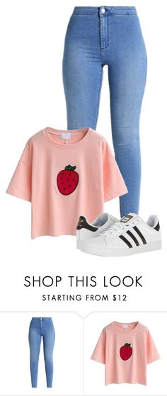 """"""".07"""" by mziecellerino on Polyvore featuring adidas"""
