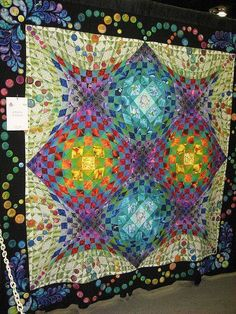 Love the 3D effect of this quilt
