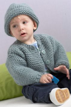 Free pattern - Norland Cardigan and Hat