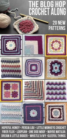 *Lion Brand provided the yarn for this post. This post contains affiliate links. If you decide to make a purchase, it doesn't cost you anything extra and it helps to support Persia Lou. Thank you! I am really excited to kick off The Blog Hop Crochet Along with my first aghan square pattern – my …