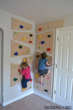 How do you build an indoor climbing wall? Your children will . Ihre Kinder werden es lieben … – DSelbermachen ideen How do you build an indoor climbing wall? Your kids will love it … - Kids Furniture, Furniture Decor, Bedroom Furniture, Furniture Removal, Diy Wall Decor, Diy Home Decor, Baby Decor, Home Decoration, Room Decorations