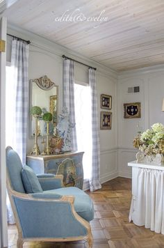 The Study Renovation. French Country InteriorsCountry ...