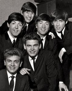 The Beatles with The Everly Brothers. Unexpected and Beautiful. This picture is a treasure.